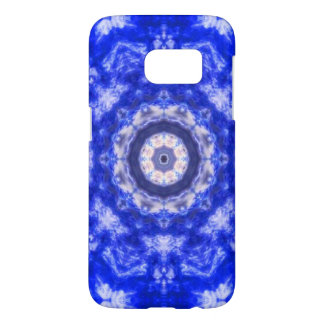 Royal Blue Lace Samsung Galaxy S7 Case
