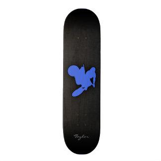 Royal Blue Motocross Skateboard