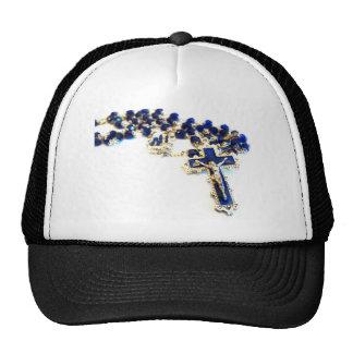 Royal Blue Rosary Trucker Hat