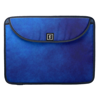 Royal Blue Watercolor Abstract Art Macbook Sleeve