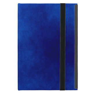 Royal Blue Watercolor Abstract, iPad Mini Case