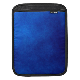 Royal Blue Watercolor Abstract iPad Mini Sleeve