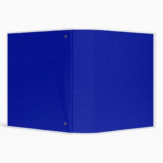 Royal Blue Weave Avery Binder