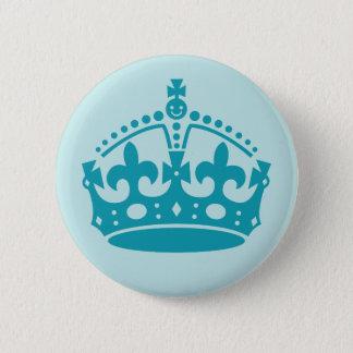 Royal British Crown 2 Inch Round Button