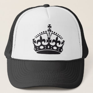 royal British crown Trucker Hat