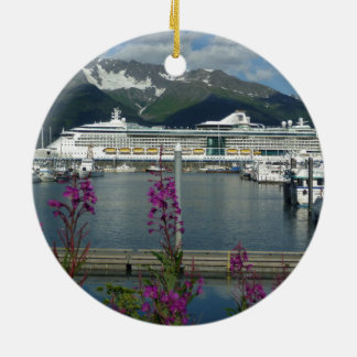 Royal Caribbean Seward Alaska Christmas Ornaments