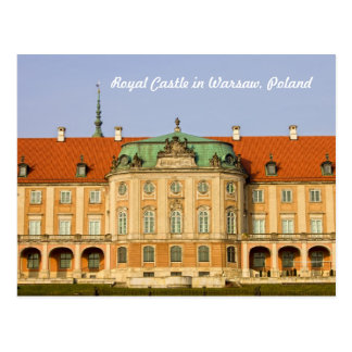 Royal Castle in Warsaw Postcard