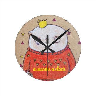 royal cat king pin clocks