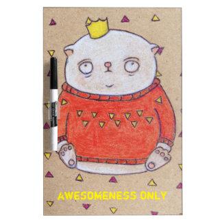 royal cat king pin Dry-Erase boards