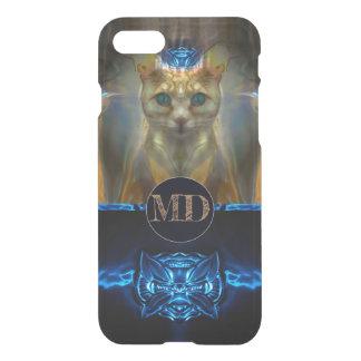 Royal Cat Monogram iPhone 8/7 Case
