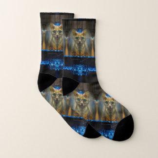 Royal Cat Socks