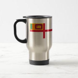 Royal Ceylon Navy, Sri Lanka flag Travel Mug