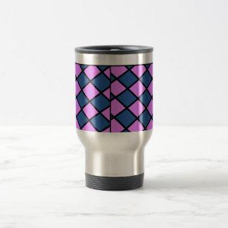Royal Checkers Travel Mug