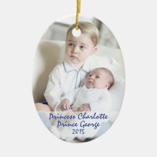 Royal Children - George & Charlotte Ceramic Ornament