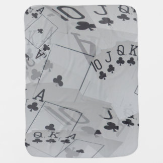 Royal Club Flush Pattern, Baby Blanket
