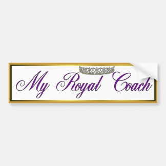 Royal Coach Bumper Sticker