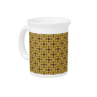 Royal Colorful  Kaleidoscope   Porcelain Pitchers