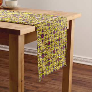 Royal Colorful  Kaleidoscope  Table Runner