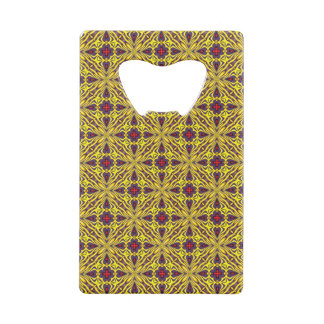 Royal Colorful Kaleidoscope Wallet Bottle Opener