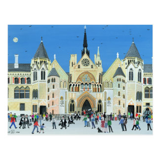 Royal Courts of Justice London 1994 Postcard