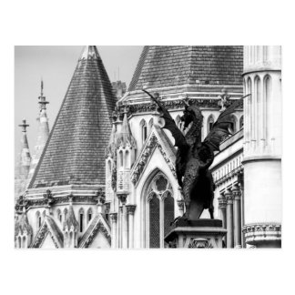 Royal Courts of Justice Postcard