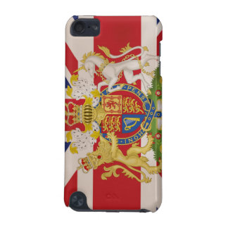 Royal Crest on Union Jack Flag iPod Touch 5G Covers