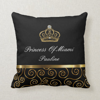 Royal Crown Funny Design Throw Pillow