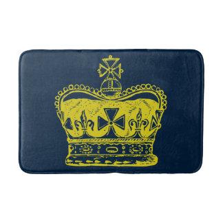Royal Crown Graphic Bath Mat