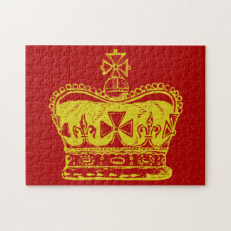 Royal Crown Graphic Jigsaw Puzzle