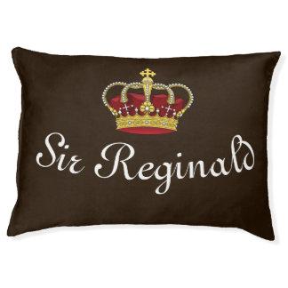 Royal Crown King's Dog Bed Dark Brown