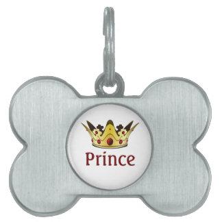 Royal Crown Pet Name Tag