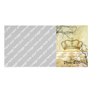 Royal Crown with Branches Photo Cards