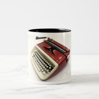 Royal Custom (Safari) typewriter Two-Tone Coffee Mug