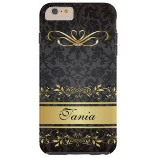 Royal Damask iPhone 6 Plus Monogram Case