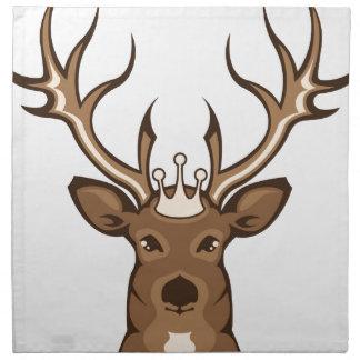 Royal Deer Cloth Napkin