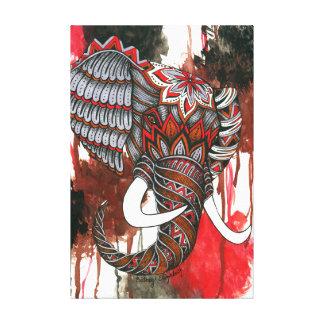 Royal Elephant Canvas Print