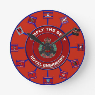 ROYAL ENGINEER CLOCK