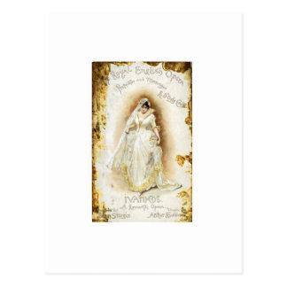 Royal English Opera s Ivanhoe Post Card