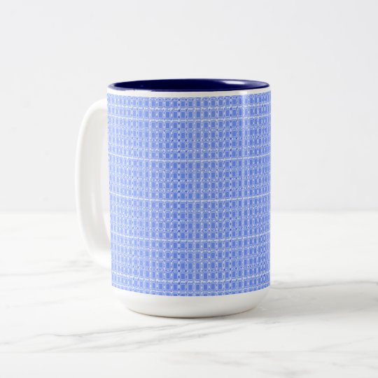 Royal Fabric's-Blue(c)Multi Styles & Colours Two-Tone Coffee Mug