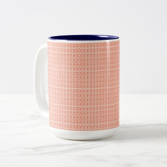 Royal Fabric's-Peach(c)Multi Styles & Colours Two-Tone Coffee Mug
