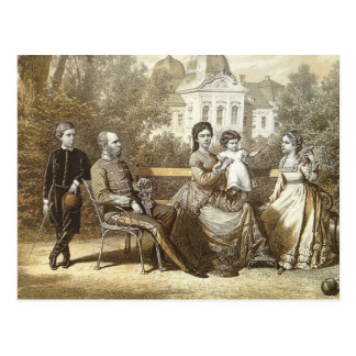 Royal family of Austria - SISS - Habsburg #014H Postcard