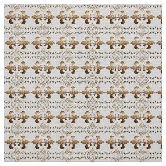 Royal, Fleur de Lis  pattern Fabric