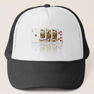 Royal Flush Diamonds Trucker Hat