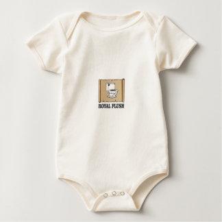 royal flush dump baby bodysuit