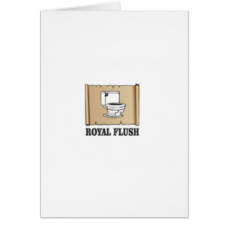 royal flush dump card