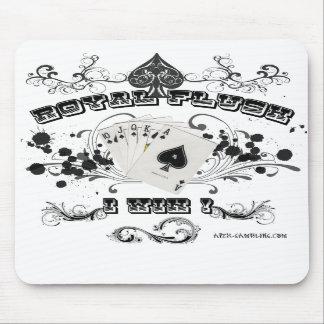 Royal Flush Mouse Pad