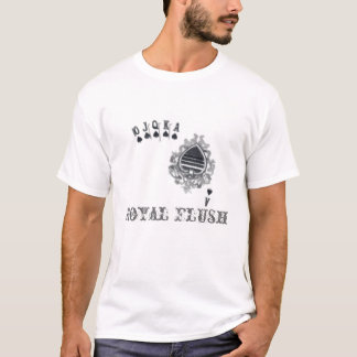Royal Flush poker t-shirt