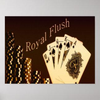 Royal Flush Poster