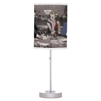 Royal Flush Table Lamp