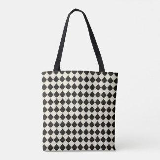 Royal-French-Harlequin_Stylish-Bags-Tote-M-L Tote Bag